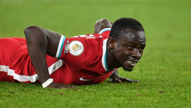 Sadio Mane has struggled for form for Liverpool since the turn of the year