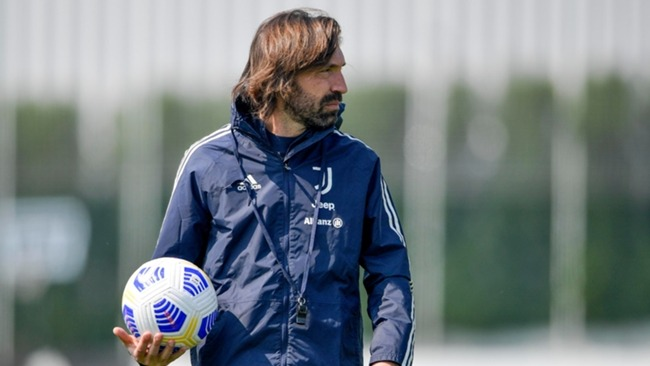 Andrea Pirlo's position as Juventus boss has been called into question