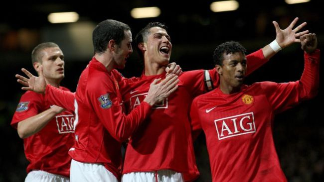 Cristiano Ronaldo's supporting cast helped him reach new heights in 2007-08