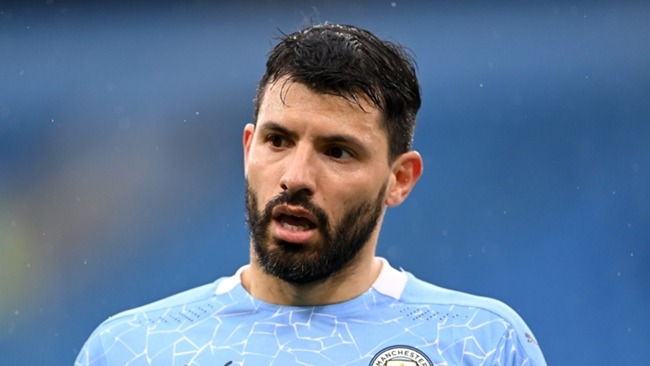 Sergio Aguero's final season at Manchester City has been ruined by injury