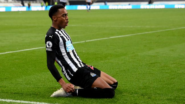 Joe Willock and Newcastle are looking to see off St James' Park for the season with a victory over Sheffield United