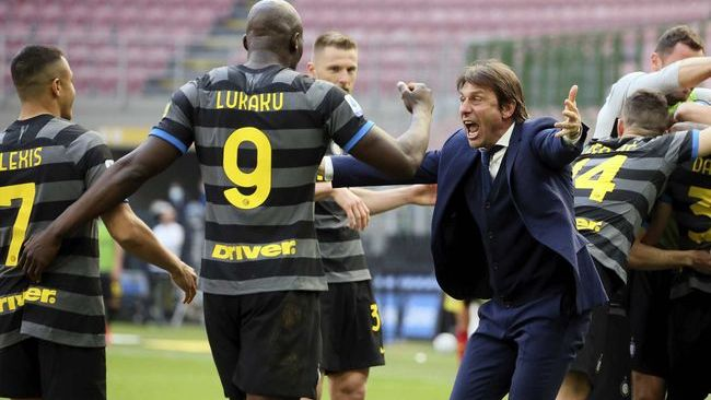 Antonio Conte's Inter Milan have already sewn up their first Serie A title in 11 years