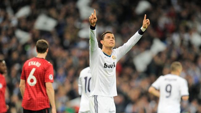 Cristiano Ronaldo starred against old club Manchester United on his way to the 2013 Ballon d'Or
