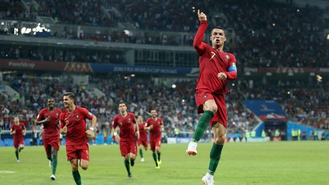 Cristiano Ronaldo's best goals include a stunning hat-trick goal against Spain in the 2018 World Cup