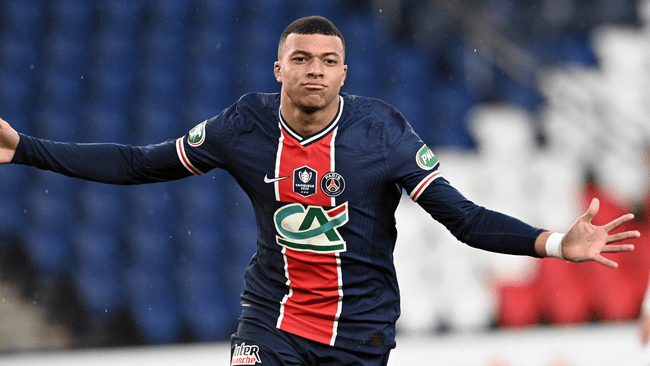 Kylian Mbappe is a doubt for PSG's clash with Manchester City