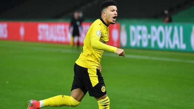 Jadon Sancho's future is once again a hot topic
