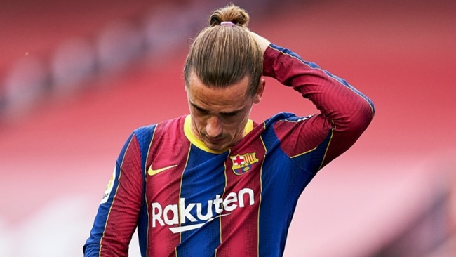 Antoine Griezmann's future remains in doubt at Barcelona