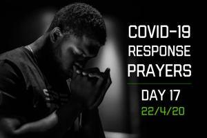 COVID-19 Response Prayers – Day 17