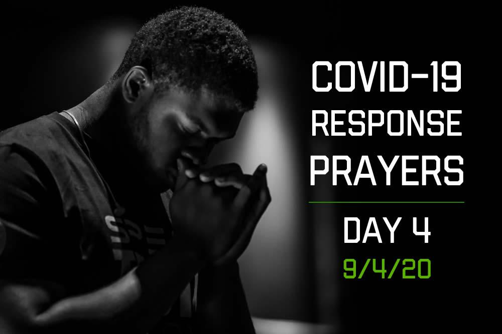 COVID-19 Response Prayers – Day 4