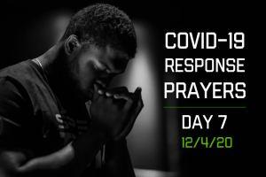 COVID-19 Response Prayers – Day 7