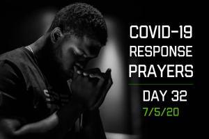 COVID-19 Response Prayers – Day 32