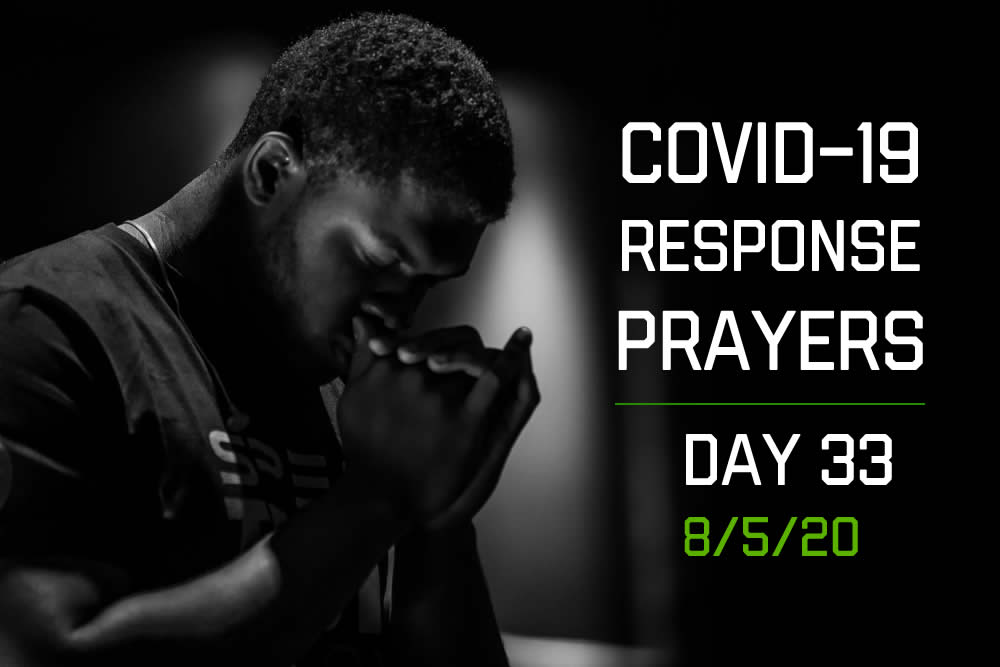 COVID-19 Response Prayers – Day 33