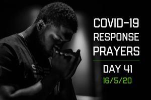 COVID-19 Response Prayers – Day 41