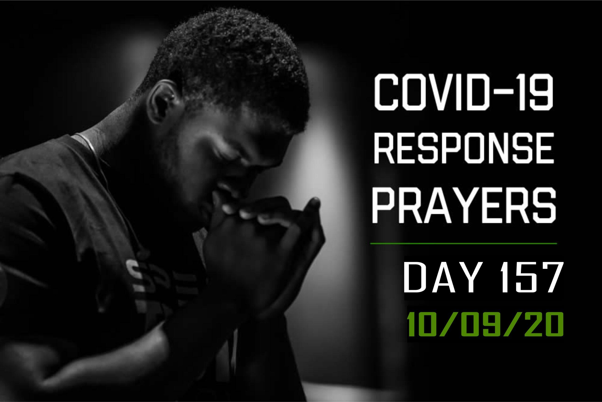 COVID-19 Response Prayers Day – 157