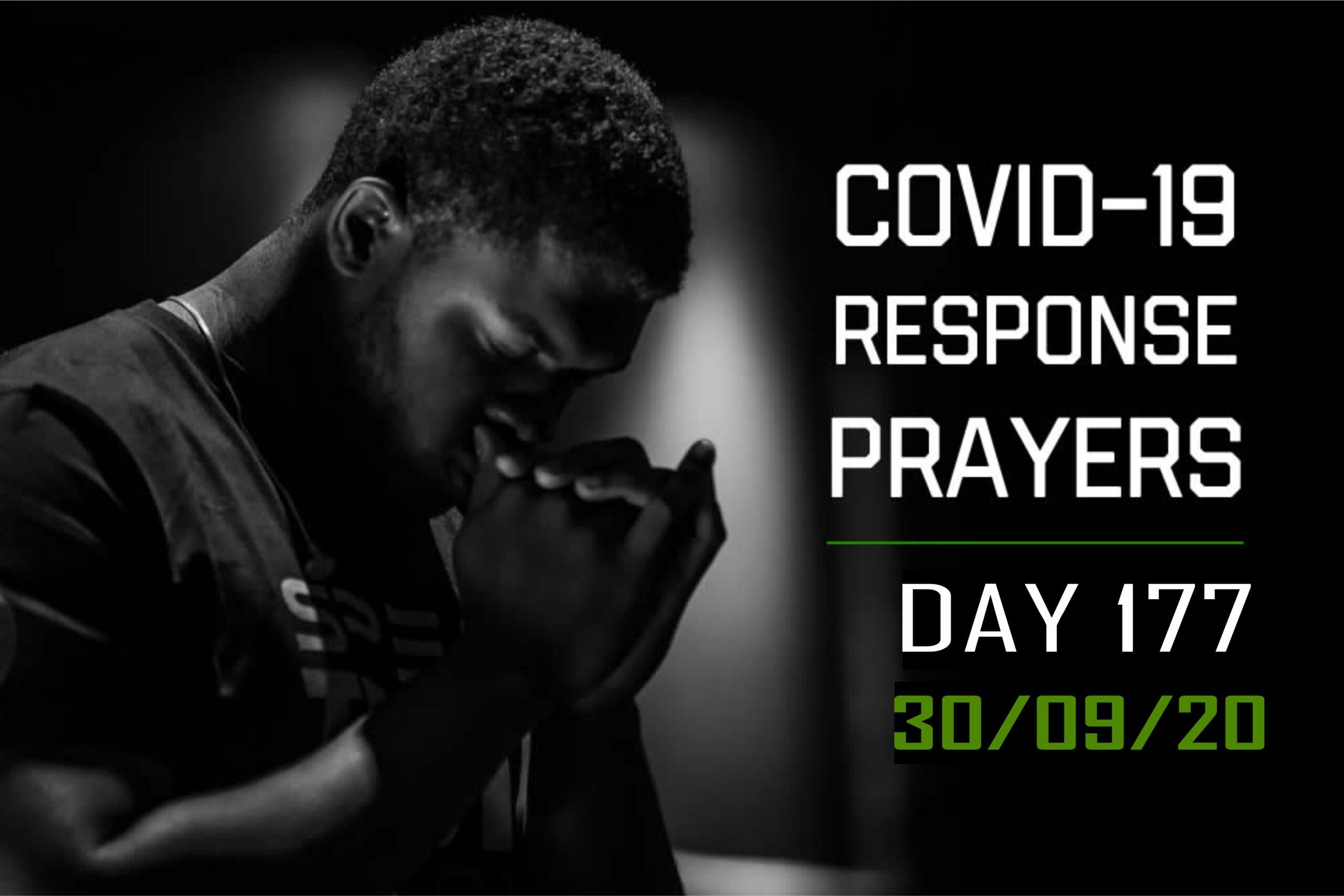 COVID-19 Response Prayers Day – 177