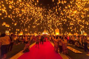 Loy Kratong - Photo Fortune Thailand travel 1