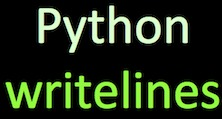 3 Ways to Write Text to a File in Python — Python, R, and Linux Tips