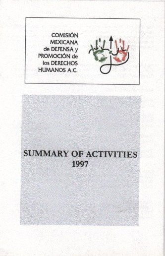 CMDPDH Summary of Activities 1997