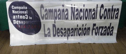 Campaña Nacional contra la Desaparición Forzada: apoyo al colectivo por la Paz en Xalapa