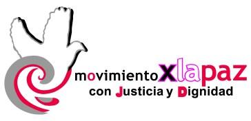 logo movimiento por la paz con letras