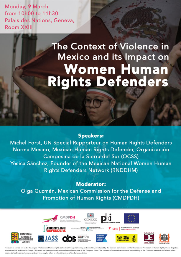 flayer-context-of-violence-in-mexico-and-impact-on-women-human-rights-defender