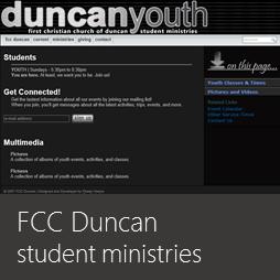 FCC Duncan Student Ministry