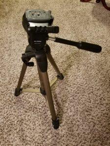 $20 - Sturdy telescoping tripod