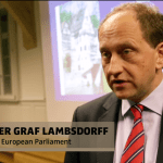 Alexander Grad Lambsdorff at the CMEPS Welcome Celebration