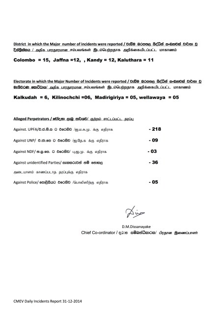 Presidential Election 2015- summary 31.12.2014 - Page 2