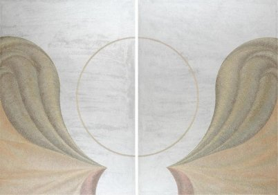Adoration - acrylic injection painting su tela 200 - 100x140cm