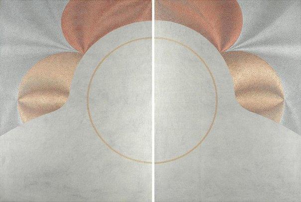 Stasi - acrilico injection painting su tela 2008-100x140 cm