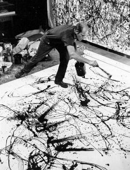 Dripping of Jackson Pollock