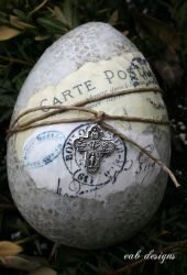 The Shabby chic easter eggs01