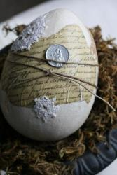 The Shabby chic easter eggs_semplice_veloce