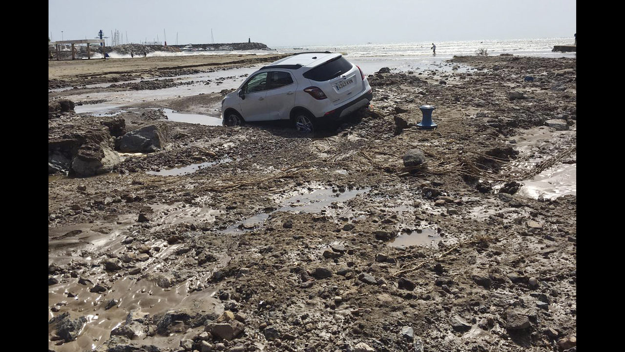 Torrential Rain Causes 3rd Death In Southeastern Spain Www