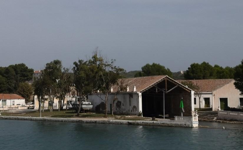 Port Mahon historic naval base