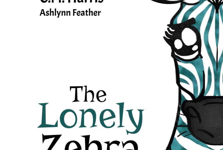 The Lonely Zebra Cover by C.M. Harris