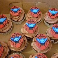 Halo Cake and Cupcakes