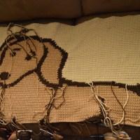 WIP Wednesday - I Love My Dachshund Blanket
