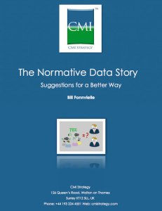 CMI Strategy - the normative data story