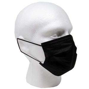 Black Disposable Protective Mask