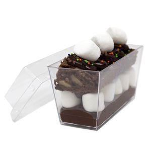 Mini Disposable Catering Rectangle with Lid