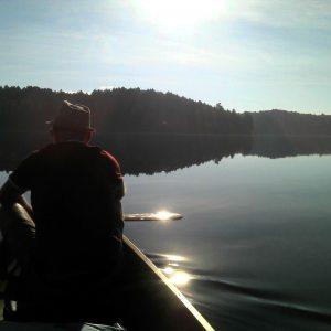 Heading toward White Trout Lake