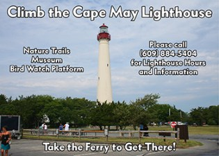 Climb the Cape May Lighthouse