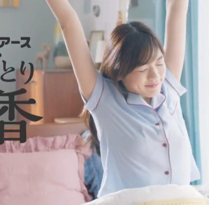 森本奈緒 アース CM