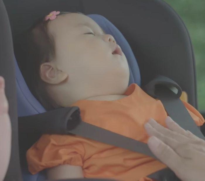 ガラコ CM 赤ちゃん