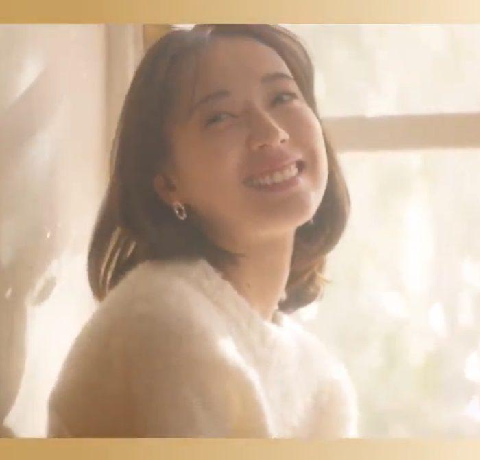 戸田恵梨香 SUNAO CM