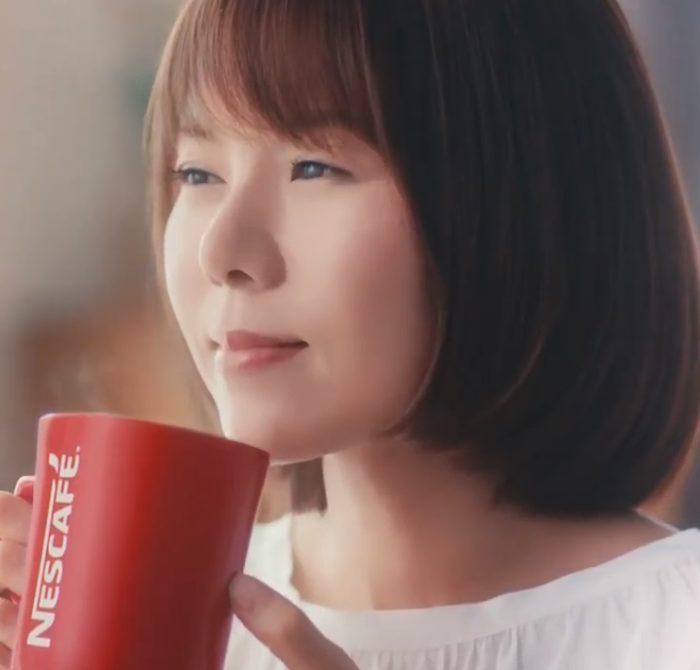 半崎美子 ネスカフェエクセラ CM