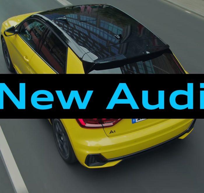 新型 Audi CM