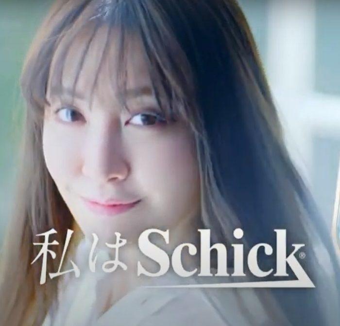 小嶋陽菜 シックハイドロシルク CM